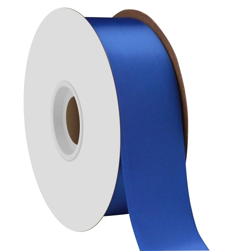 Royal Blue Single Face Satin Ribbon 38mm x 50m